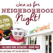 Halloween Community Night