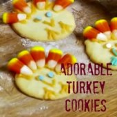 Things to do with kids: WeeWork Kids Activity: Easy Thanksgiving Turkey Cookies