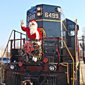 Things to do with kids: Santa Express: Christmas Train Rides for Kids in PA, DE & NJ