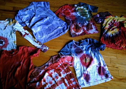 Tie Dye Party At Home Birthday Party Ideas For Kids