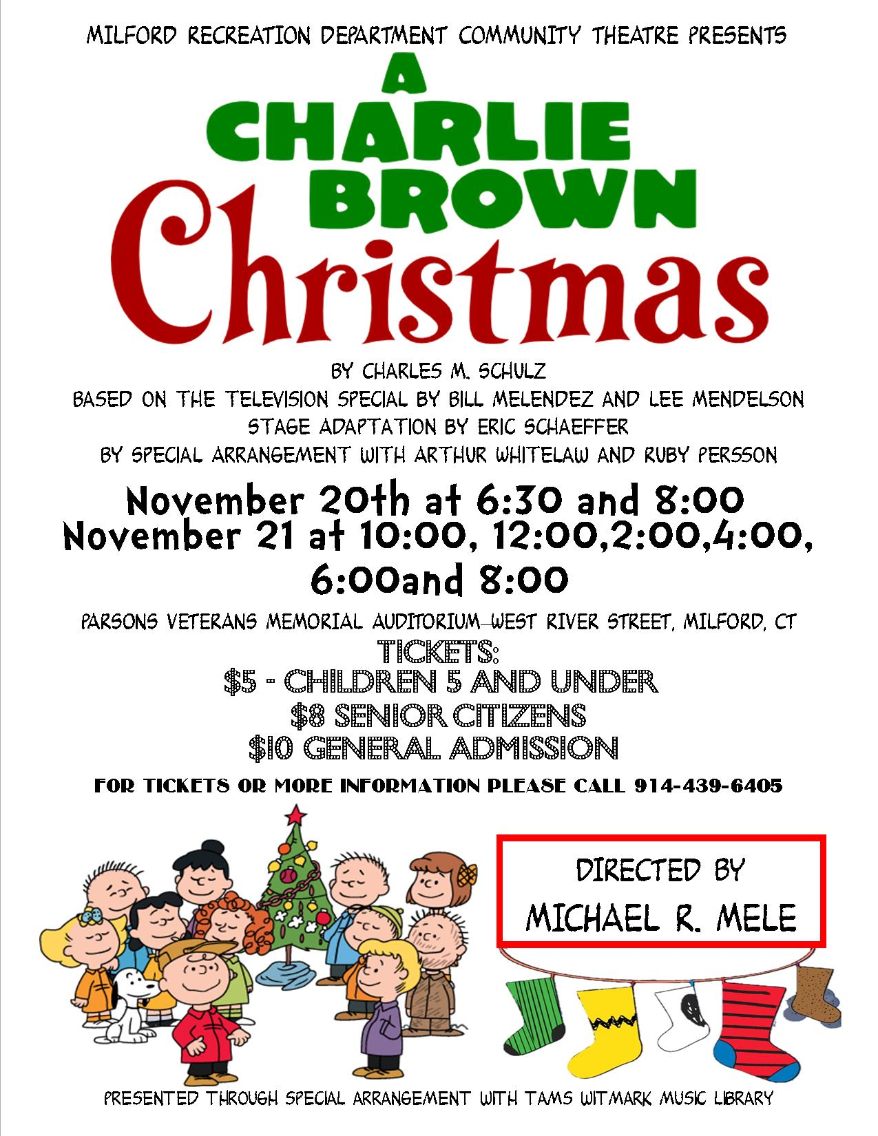A Charlie Brown Christmas Live on Stage | MommyPoppins - Things to ...