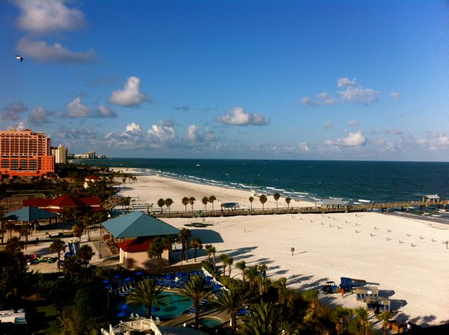 Clearwater beach hook up