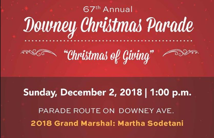 Downey Christmas Parade 2020 68th Annual Downey Christmas Parade | MommyPoppins   Things to do