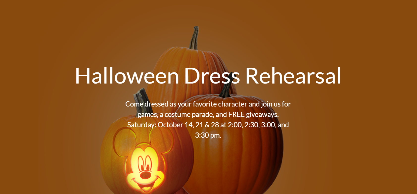 disney store halloween dress rehearsal party mommypoppins things to do in los angeles with kids