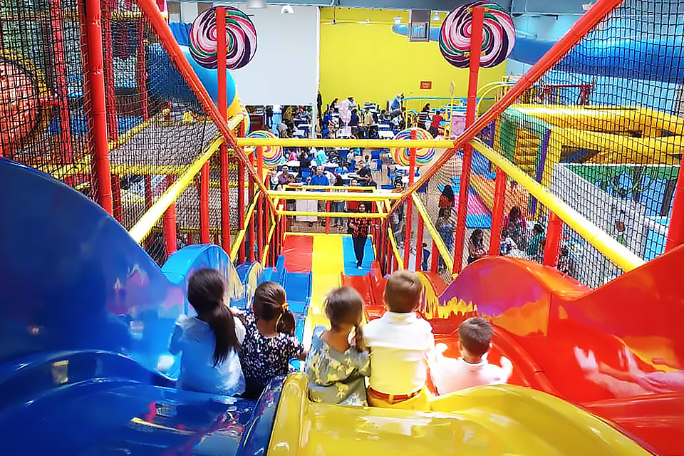 19 Indoor Party Spots With Mega Playgrounds For NYC Kids Birthdays