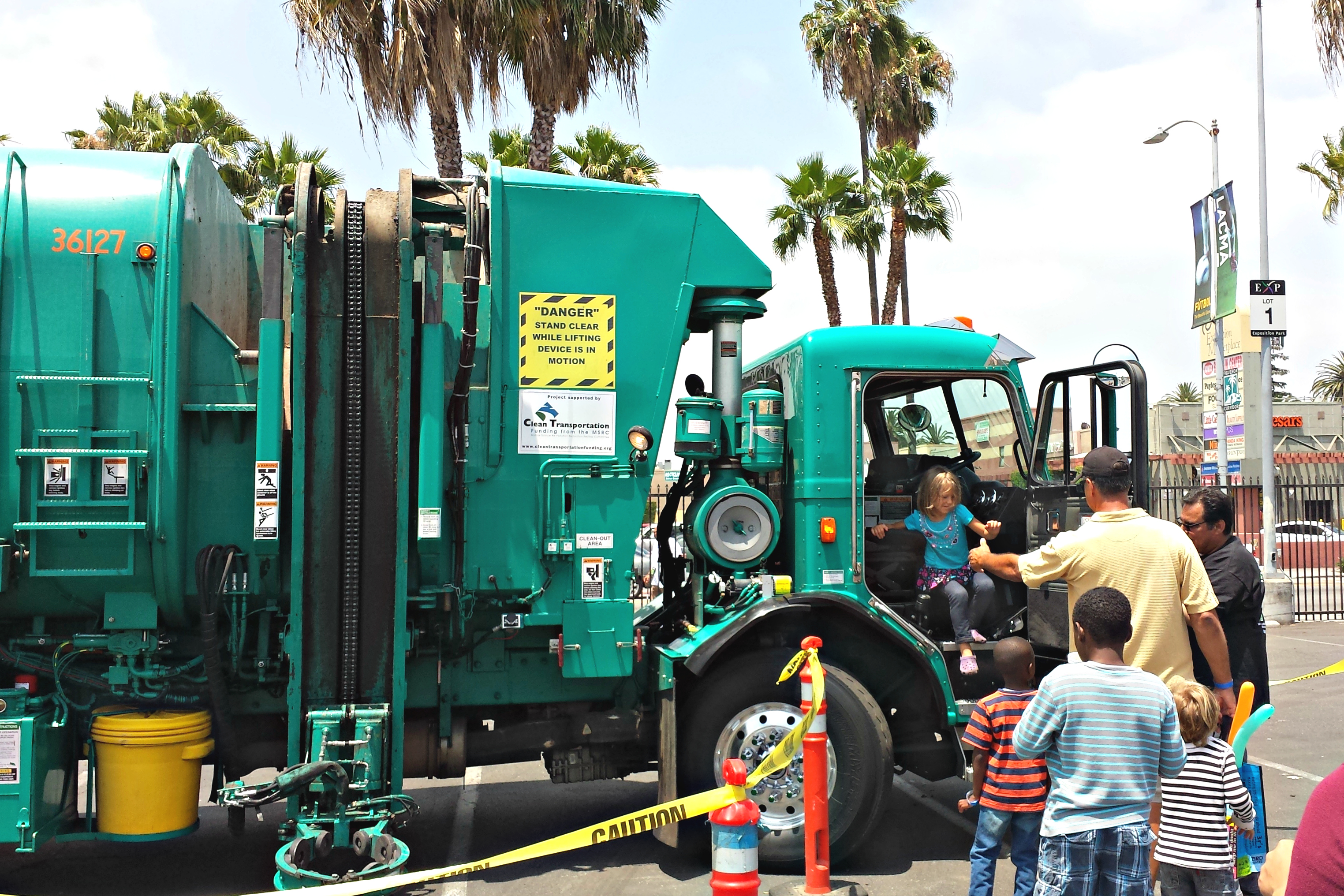 trash  u0026 recycling events  sanitation yard open houses for kids who love garbage trucks