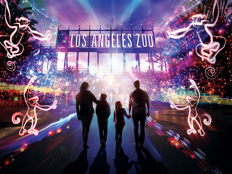 La Zoo Lights Family New Year S Eve Mommypoppins Things To Do
