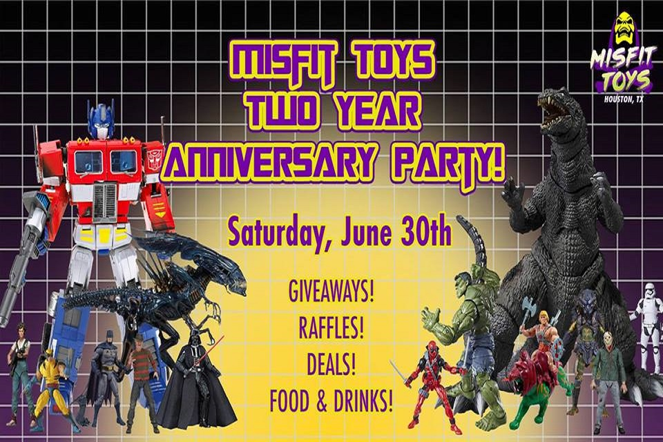 2 Year Anniversary Party At Misfit Toys