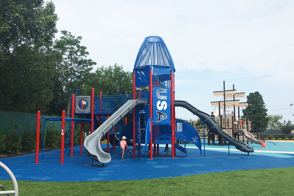 Apologise red deer adult playground