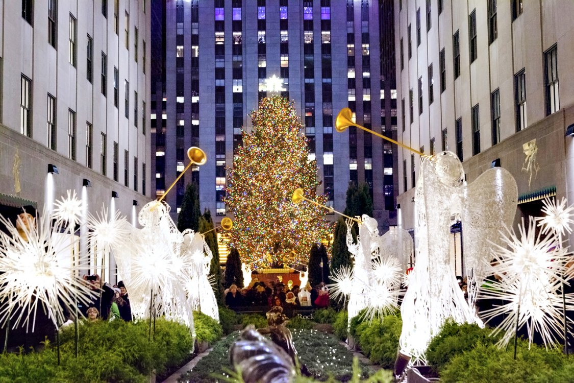 rockefeller center tree lighting 2018 mommypoppins things to do in new york city with kids