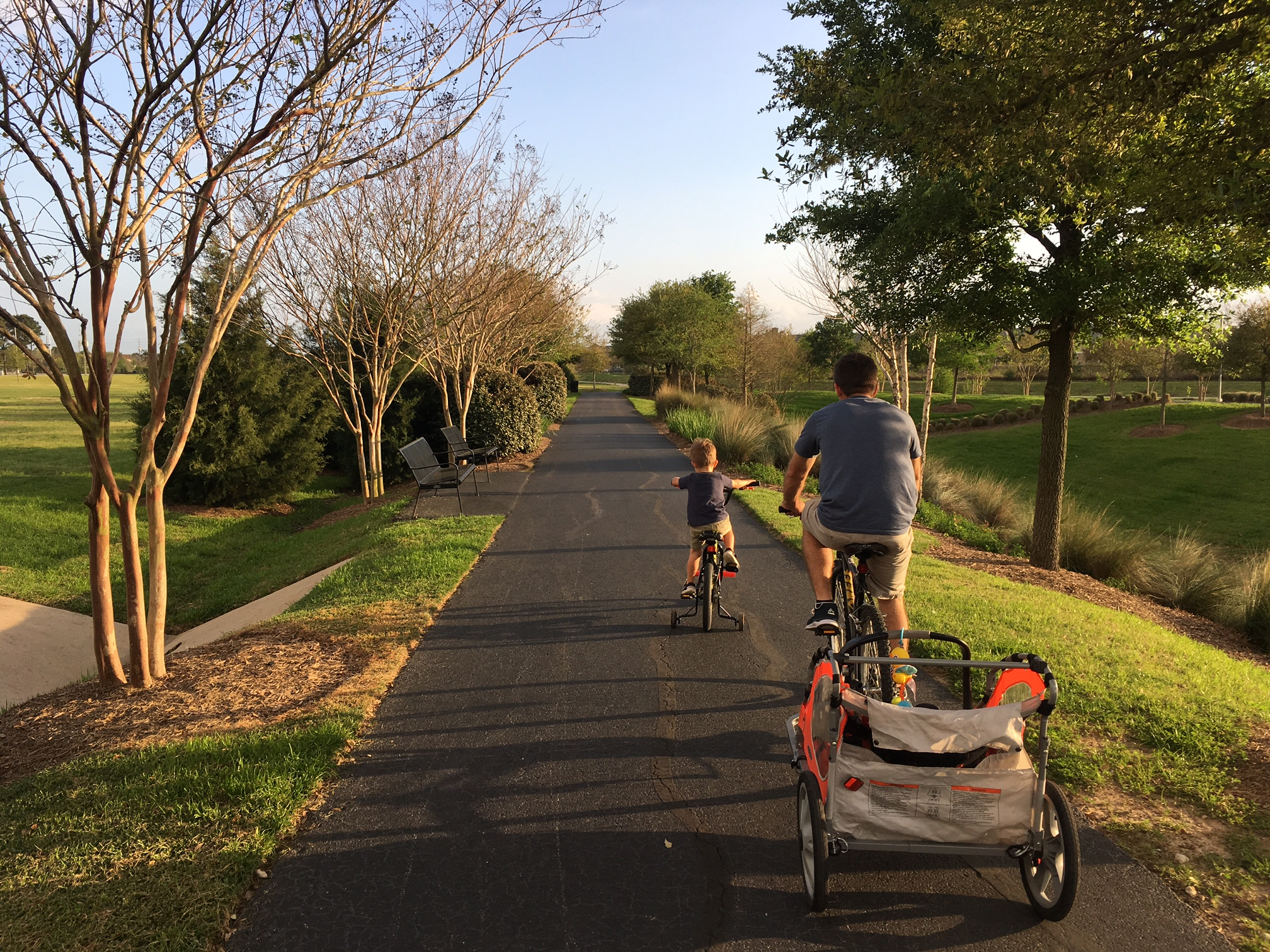Houston\'s Best Parks & Trails for Family Bike Rides | MommyPoppins ...