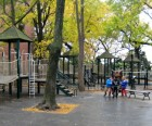 The popular Pierrepont Playground is just off the Promenade