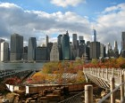 The Promenade offers incredible views of the downtown Manhattan skyline