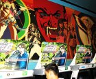 Enjoy old-school arcade games.