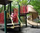 Clement Clarke Moore Park, a.k.a. Seal Park, is a popular community hub
