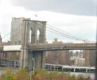 The Promenade is the perfect place to photograph the Brooklyn Bridge,<br /> with or without kids