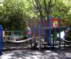Chelsea Park's play equipment is pretty standard