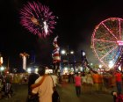 Catch the fireworks display on Friday nights during the summer.