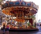 The beautiful beaux arts carousel by the Pope's Palace