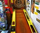 THis skee ball game is hidden in the back of Beadniks