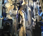 Bergdorf Goodman's windows celebrate the arts, including architecture...