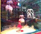 We loved this underwater scene in Bloomies' Cirque du Soleil windows