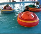 Bumper boats at Bromley Adventure Park Kid Zone