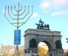 The World's Largest Hanukkah Menorah: Brooklyn