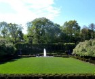 One of the most beautiful sections of Central Park, the Conservatory Garden,<br/>is located in East Harlem