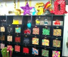Many of the products are custom-made, like the piñatas and party decor