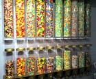 No self-serve at this upscale candy shop