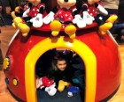 The Times Square Disney Store offers interactive elements, like tunnels, magic mirrors and a giant TV screen