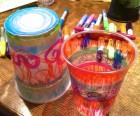 Decorate cups