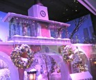 A replica of the Delacorte Musical Clock at Lord & Taylor