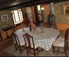 The dining room of the Victorian Alice Austen House Museum