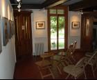 Screening room in the Alice Austen House Museum