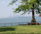 Alice Austen Park offers stunning views of New York Bay and the city beyond