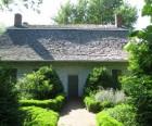 The gardens in back of the Vander Ende-Onderdonk House