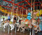 Finally a spin on the historic Flushing Meadows Carousel