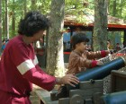 Kids can get a Pirate certificate for leaning to shoot canons