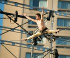 Tightrope Walking Performance at the Circus Festival / Chad Case Photography