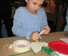 Learning to think creatively about survival using tin foil and tape in the<br /> Treehouse