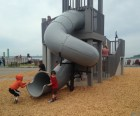 It is a playground or a very small fort?