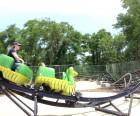 The Verrazano Viper roller coaster