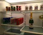 Stocked fridge and bar included with Concierge level rooms