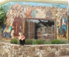 Murals and missionaries everywhere!
