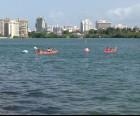 Kayaking in the Condado Lagoon