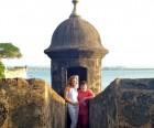 MB & son in San Juan
