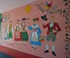 The Maxine Albro mural