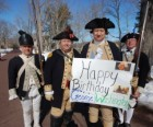George Washington's 286th Birthday Celebration